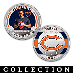The Chicago Bears Proof Coin Collection