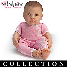 Dark Brown Hair, Brown Eyes Doll & More Collection