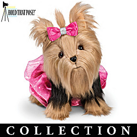 Pampered Pooch Plush Yorkie & Accessory Collection