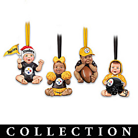 Football Is Always In Season Steelers Ornament Collection