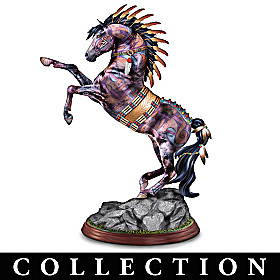 The Legend Of The Spirit Pony Sculpture Collection