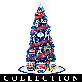 Chicago Cubs Christmas Tree Collection