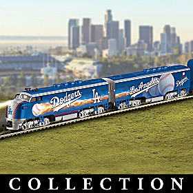 Los Angeles Dodgers Express Train Collection
