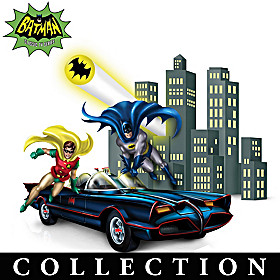 The Adventures Of BATMAN & ROBIN Figurine Collection