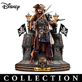 Disney Pirates Of The Caribbean Sculpture Collection