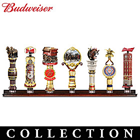 Budweiser Heirloom Tap Handle Collection
