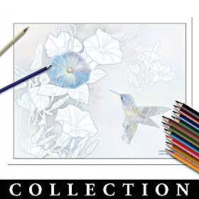 Lena Liu Artistic Escapes Coloring Kit Collection