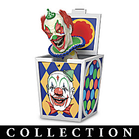 Faces Of Fear ShockBox Sculpture Collection