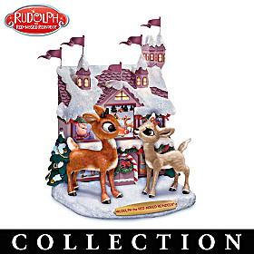 Rudolph's Winter Wonderland Sculpture Collection