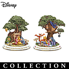 Disney Friendships Of Hundred Acre Wood Sculpture Collection
