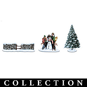 Winter Charms Village Accessory Collection