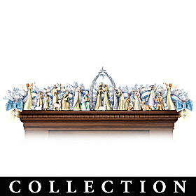 Miracle Of Christmas Nativity Garland Collection