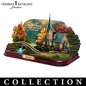 Thomas Kinkade Chapels Of Faith Sculpture Collection