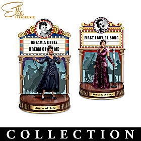 ELLA FITZGERALD: First Lady Of Song Sculpture Collection