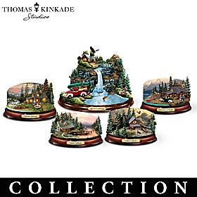 Thomas Kinkade Nature's Embrace Sculpture Collection