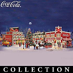 COCA-COLA Holiday Memories Village Collection