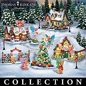 Thomas Kinkade Fairy Christmas Village Collection