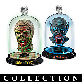 Heads Of Horror Sculpture Collection