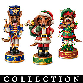 Happy Howl-idays Sculpture Collection