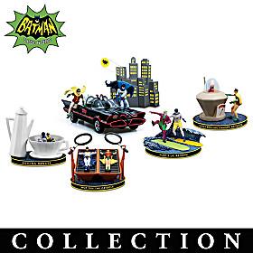 The Adventures Of BATMAN & ROBIN Figurine Collection
