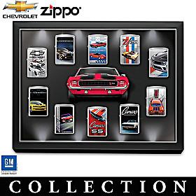 Chevrolet® Camaro® Zippo® Lighter Collection