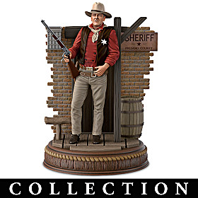 John Wayne: Silver Screen Legend Figurine Collection