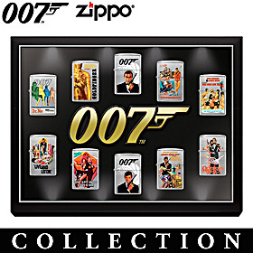 James Bond 007™ Zippo® Lighter Collection