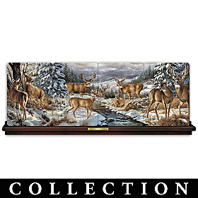 Winter Gathering Collector Plate Collection