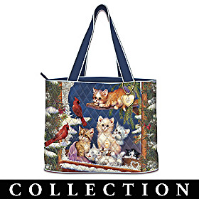 Kitten Tales Of Adventure Tote Bag Collection