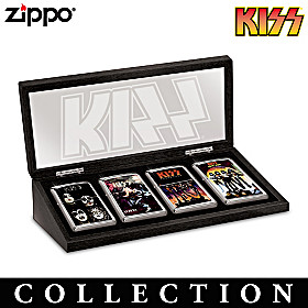 KISS® Rock Legends Zippo® Lighter Collection