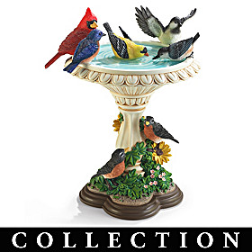 The Garden's Birds Sculpture Collection