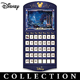 Magical Seasons Of Disney Perpetual Calendar Collection