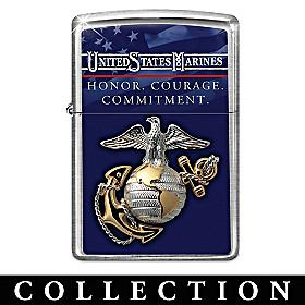USMC Zippo® Lighter Collection