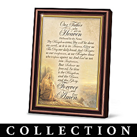 The Word Of The Lord Prayer Frame Collection