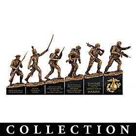 Semper Fi - History Of The Marine Corps Sculpture Collection