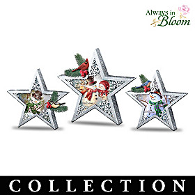 Stars Of The Season Table Centerpiece Collection