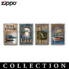 The Lure Of Fishing Zippo® Lighter Collection