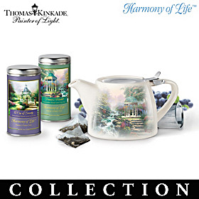 Thomas Kinkade Nature's Finest Teas Tea Set Subscription