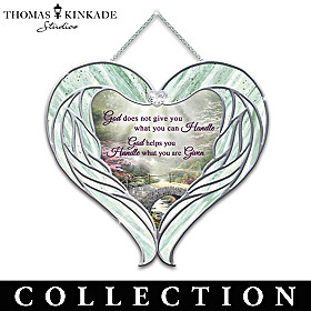 Thomas Kinkade Heavenly Messengers Suncatcher Collection