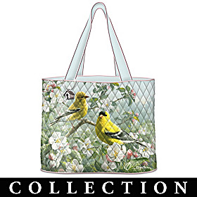 Songbirds Of The Seasons Tote Bag Collection