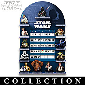 May The Force Be With You Perpetual Calendar Collection
