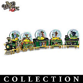 Journey To OZ Glitter Globe Collection