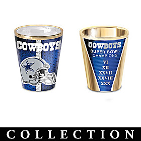 Dallas Cowboys Shot Glass Collection