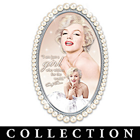 Marilyn Monroe Pearls Of Wit & Wisdom Wall Decor Collection
