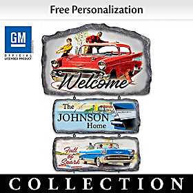 Classic Bel Air Personalized Welcome Sign Collection