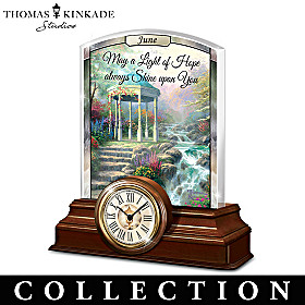 Thomas Kinkade Illuminations Clock Calendar Collection