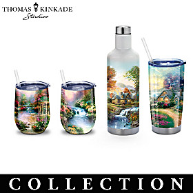 Thomas Kinkade Tranquility Drinkware Collection
