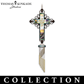Thomas Kinkade Heavensong Wind Chime Collection