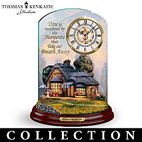 Thomas Kinkade Memorable Moments Clock Collection