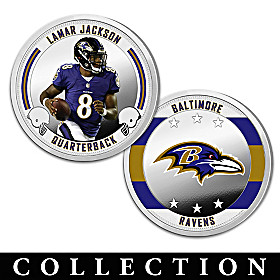 The Baltimore Ravens Proof Coin Collection